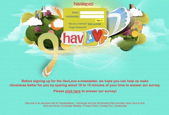 Havlove Community Registration